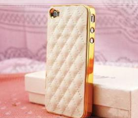 iPhone 4 case, Leather Iphone 4 Case, iPhone 4s case, iPhone case, iphone cover, iphone 4 cover